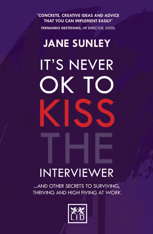 It's Never OK to Kiss the Interviewer Book Cover